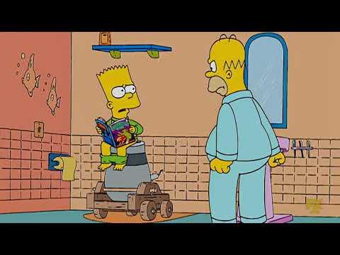 The Simpsons S19E05 – Treehouse Of Terror XVIII Clip5