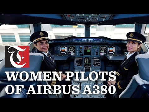 The Women Pilots of Airbus A380: Emirates turns the spotlight on women