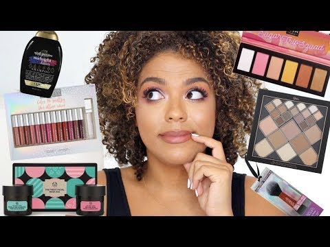 DRUGSTORE HOLIDAY GIFT SETS! + GIVEAWAY! NYX, PHYSICIANS FORMULA, QUO HOLIDAY thumbnail