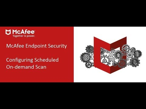Mcafee ENS HowTo - Scheduled On Demand Scan