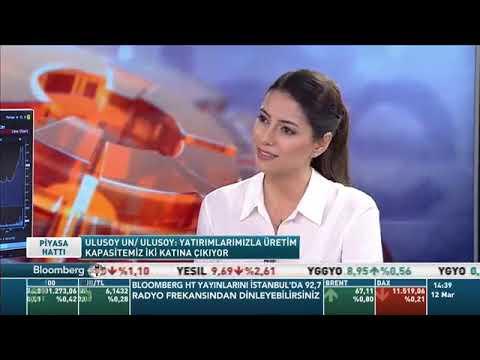 BloombergHT Piyasa Hattı Programı - Ulusoy Un YKB Eren Günhan Ulusoy / 12.03.2019