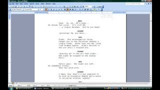 how to use microsoft word for screenwriting microsoft office software