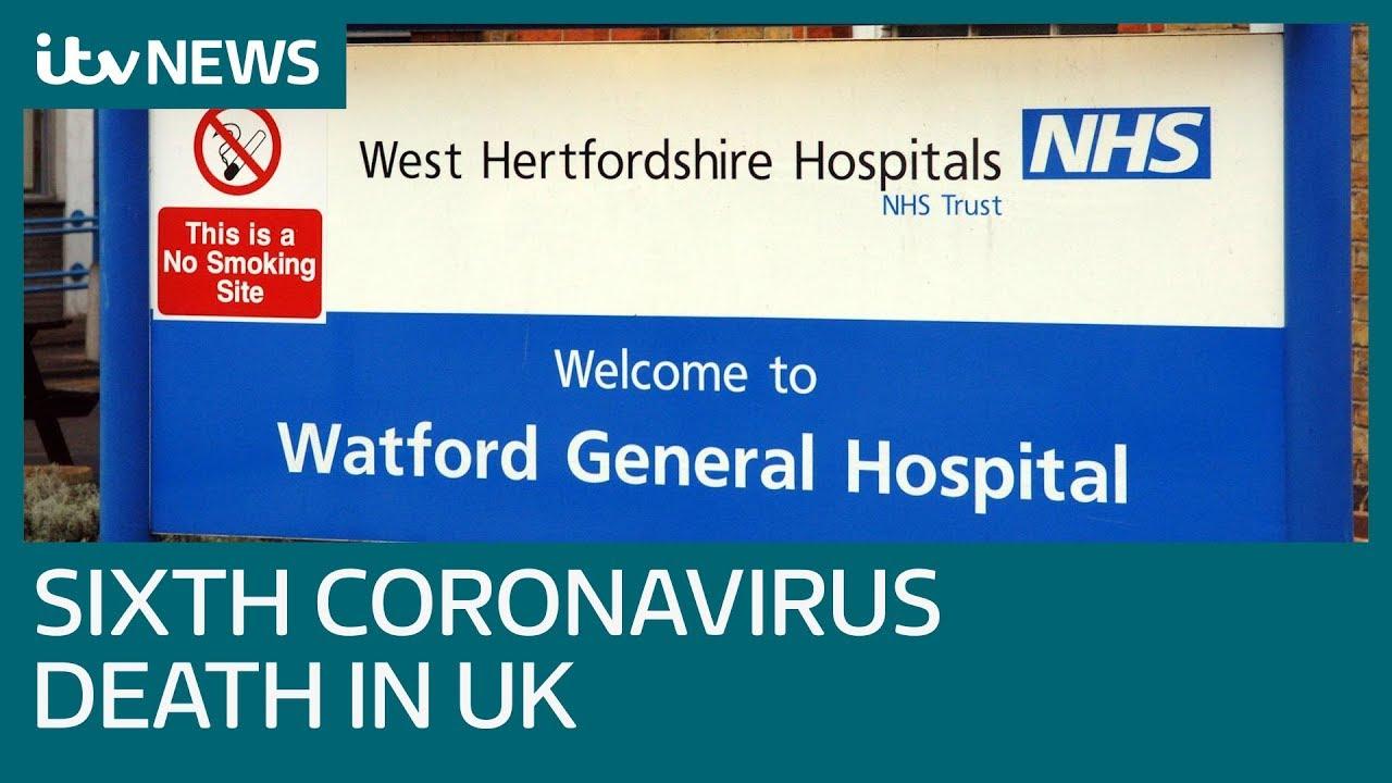 Coronavirus death toll in UK rises to six | ITV News - YouTube
