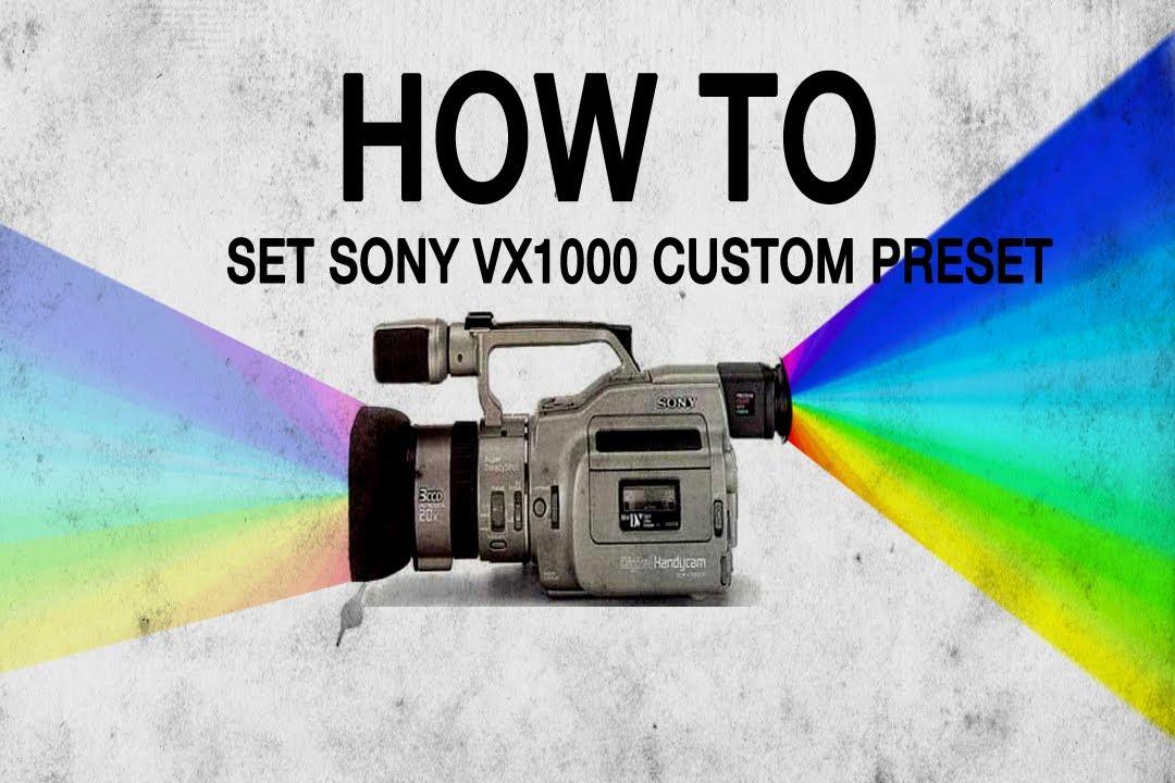 how to fix a vx1000