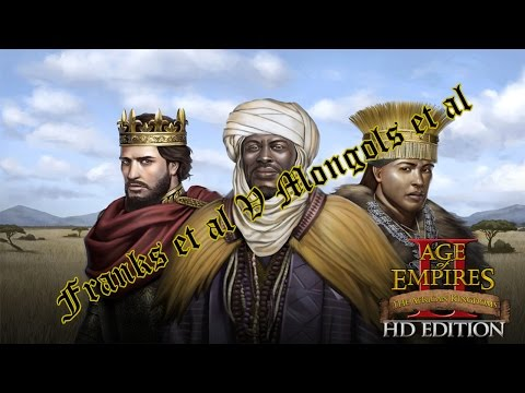 Age of Empires 2 HD, African Kingdoms - Let's Play Franks (Silver Swan)