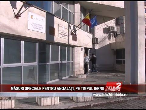MĂSURI SPECIALE PENTRU ANGAJAȚI, PE TIMPUL IERNII