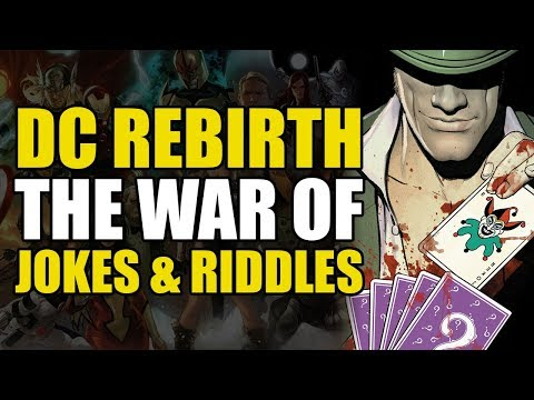 The Joker vs The Riddler vs Batman! (DC Rebirth: The War of