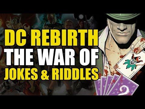 The Joker vs The Riddler vs Batman! (DC Rebirth: The War of Jokes & Riddles)