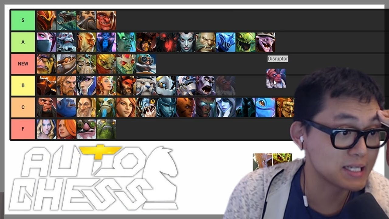 Amaz's Auto Chess Tier List | Amaz