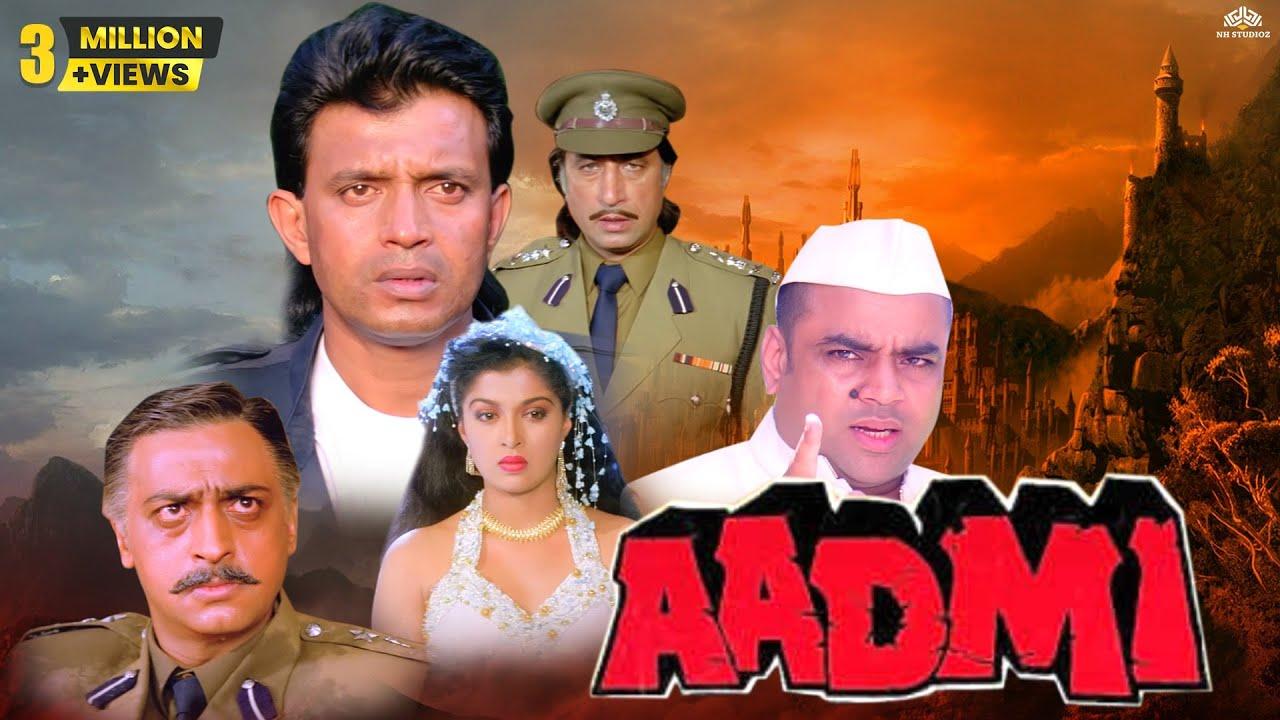 Aadmi आदमी (1993) || Mithun Chakraborty, Gauthami || Romantic Full Hindi Movie