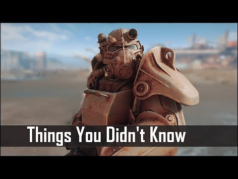 Fallout 4: 5 Things You (Probably) Never Knew You Could Do in The Wasteland thumbnail