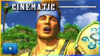 Final Fantasy X HD Remaster - Tidus Arrives At Besaid Island Cinematic