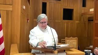 Sermon, Trinity Sunday, May 30, 2021