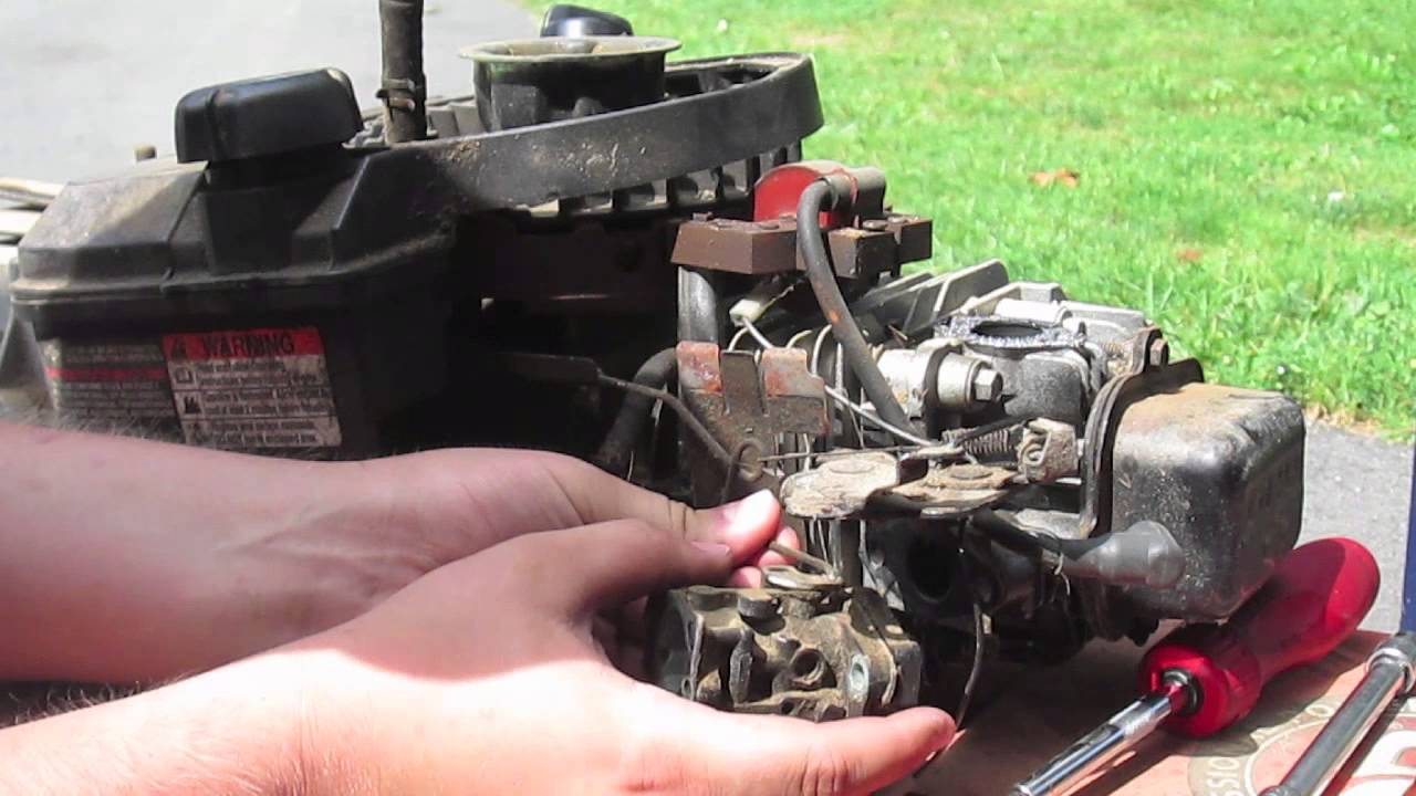 Briggs Stratton Com >> How To Replace An Ohv Cylinder Head On A Briggs And Stratton 825