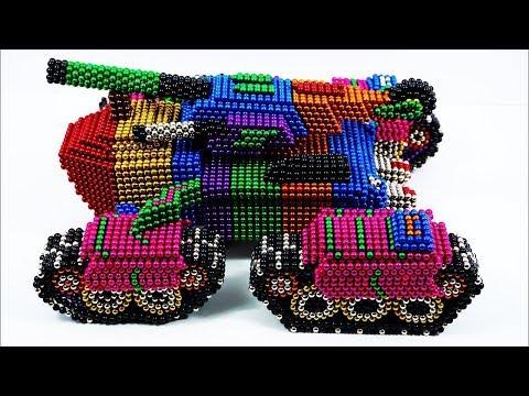 Магнитные шарики Rocket Truck - Удовлетворительные видеоролики Магнитная игра