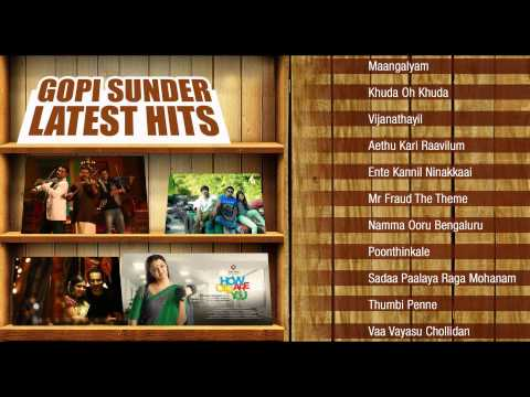Gopi Sunder Latest Hits | Malayalam Songs From Bangalore Days, How Old Are You and Mr