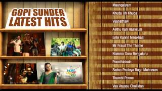 Gopi Sunder Latest Hits | Malayalam Songs From Bangalore Days, How Old Are You and Mr.Fraud