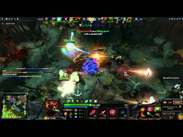 Dota 2 Highlight - iCCup vs Absolute Legends (The Defense 3 - Group A)