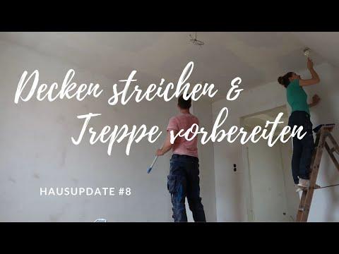 Decke streichen &´ Treppe vorbereiten | Wir bauen unsere Zukunft #8 | Wortfetzen