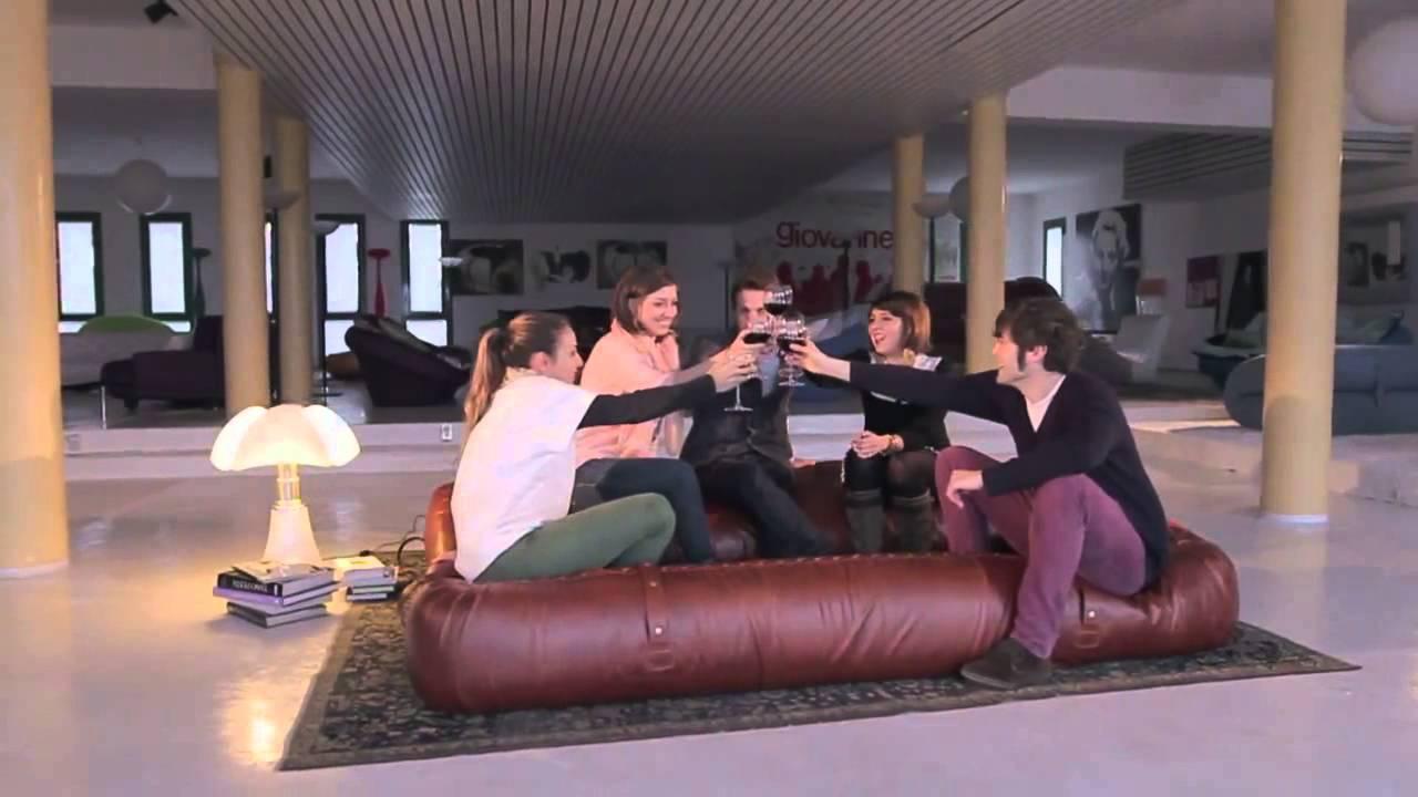 Divano Letto Anfibio Giovannetti.Giovannetti Collezioni Sofa Bed Anfibio Youtube