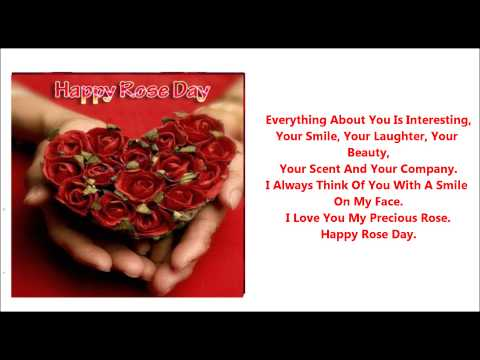 romantic messages for rose day 2016 wishes quotes
