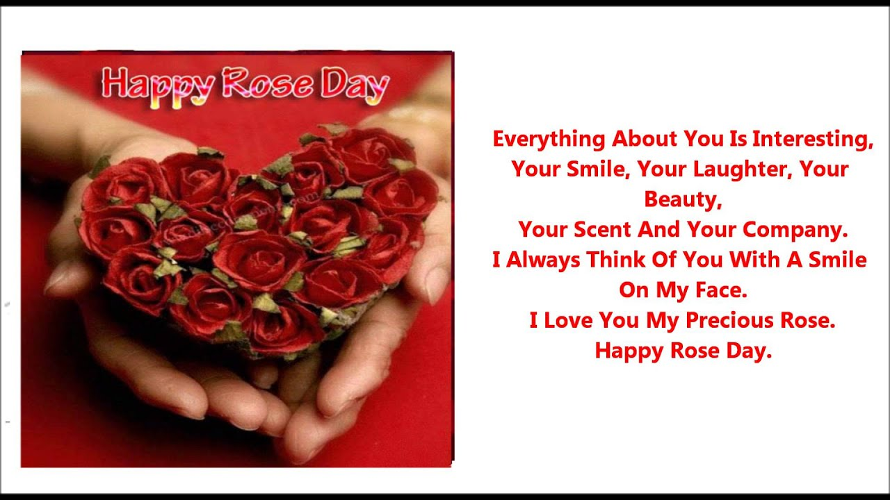 Rose day love messages valentines day info rose day love messages kristyandbryce Image collections