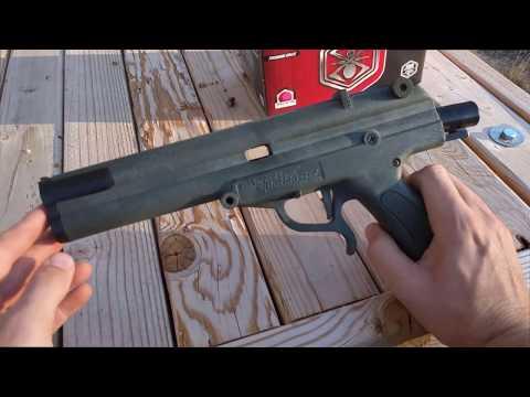 World's First Paintball Gun.  The Survival Game Splatmaster