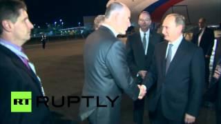 Владимир Путин прилетел в Брисбен на саммит G20