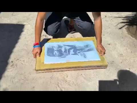 How to make a Photographic Silkscreen Printing