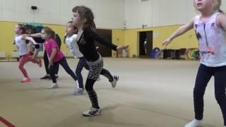 Офп, гимнастика, растяжка #фигуристы дети первый год обучения #miss Kate Gymnastic. Figure skater. 5