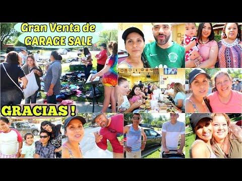 Gran Venta del Año !!  SUPER Garage Sale!!  Conocí al Bueno  - Mayo 6, 2017 ♡IsabelVlogs♡