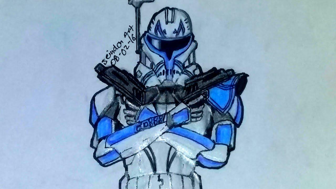 Drawing Capitan Rex / Dibujando A Capitan Rex / キャプテンレックスを ...