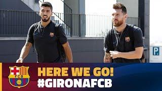 FC Barcelona: Trip to Girona