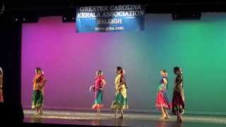 GCKA Onam 2013: Randakka Randakka Tamil Group Dance (HD)