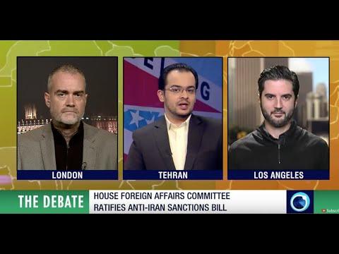 Philippe Assouline debates angry anti-US marine re sanctions on Iran on PressTV