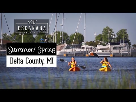 Visit Escanaba Spring Summer 2018 Hype Video