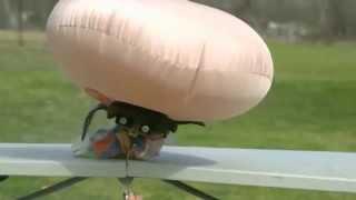Как работает подушка безопасности в автомобиле(Работа подушки безопасности автомобиля в замедленной съемке., 2015-11-15T00:43:35.000Z)