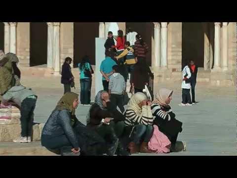 Kairouan Great Mosque - Islamic pilgrim center in Tunisia - Mosque of Uqba