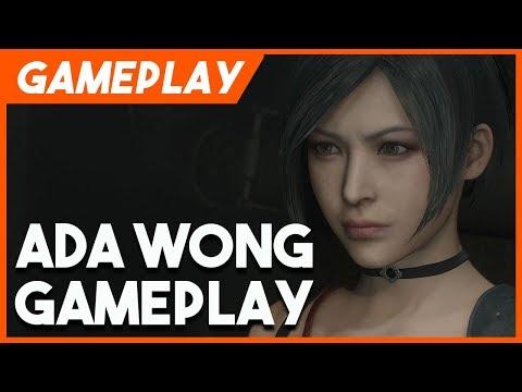 New Resident Evil 2 Remake Ada Wong Gameplay