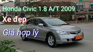 (đã bán) Tìm được chiếc Honda Civic 1.8 A/T 2009 tuyệt đẹp 👍