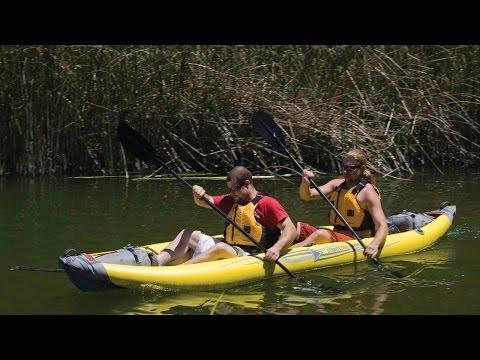 AE1014-Y StraitEdge 2 kayak Quick Setup