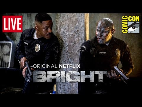 BRIGHT (NETFLIX) | WILL SMITH ROUBA A CENA NA #SDCC