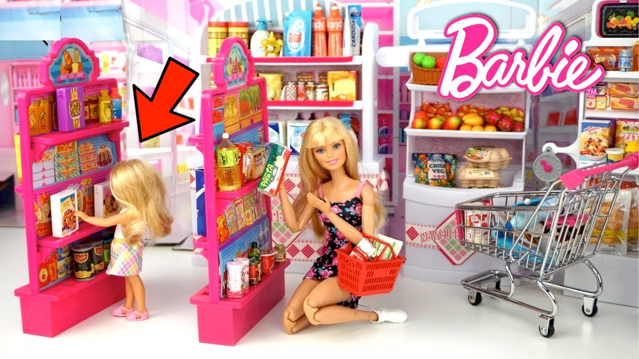 Download Barbie Family Story - Chelsea Gets Lost at The Doll Supermarket
