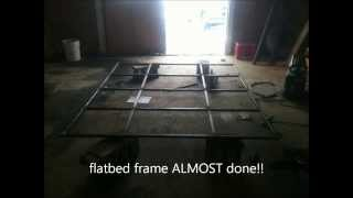 Flatbed Build