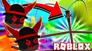 Kann zwei Dämon Masken zerstören Stick Bug In Roblox Bee Schwarm Simulator