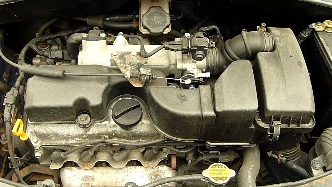 KIA PICANTO GS 11 2006 31K ENGINE RUNNING CODE G4HG YouTube – Kia Picanto Engine Diagram