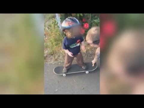 Videos Emerge of Boy Tossed Off Bridge Riding Skateboard and Mom at House Party