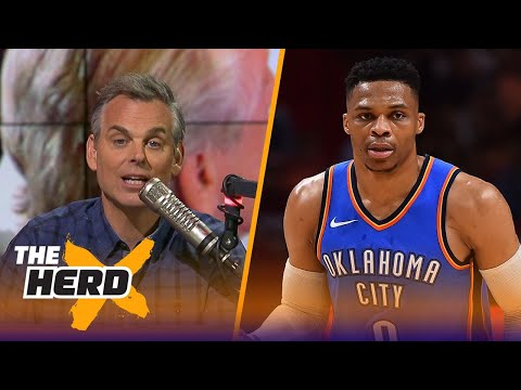 Colin on OKC's 115-93 win over Miami, Pat Riley's comments about LeBron leaving the Heat | THE HERD