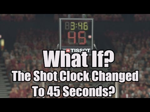 WHAT IF THE SHOT CLOCK WAS INCREASED TO 45 SECONDS!? - NBA 2K17 MYLEAGUE SIMULATION