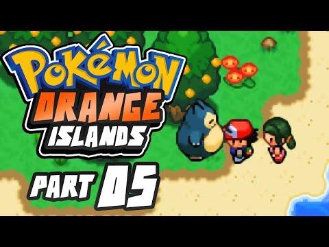 Pokemon Orange Islands Part 5 SNORLAX! GBA Rom Hack Gameplay Walkthrough